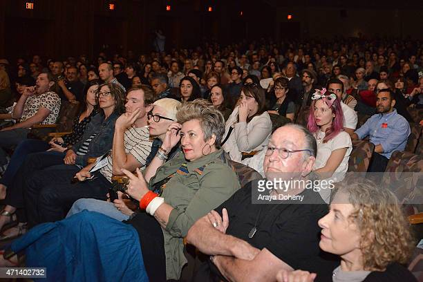 A general view of the Film Independent at LACMA Screening and QA of Iris at Bing Theatre At LACMA on April 27 2015 in Los Angeles California