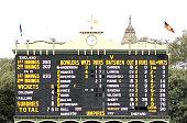 adelaide australia general view final scoreboard