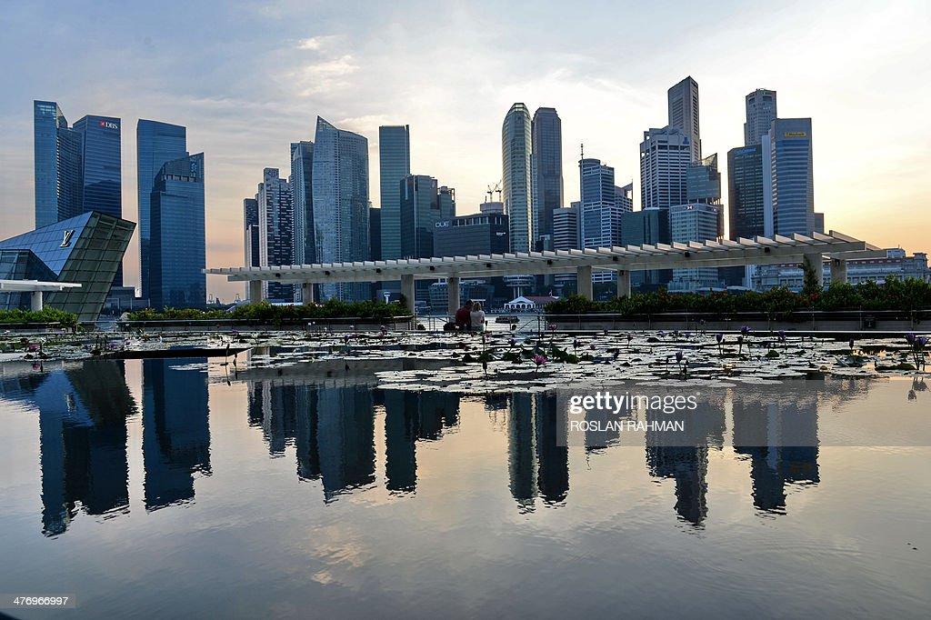 SINGAPORE-CITIES-LIFESTYLE-SURVEY : News Photo