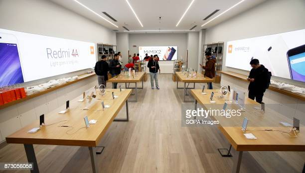 XANADú ARROYOMOLINOS MADRID SPAIN General view of the first Xiaomi store in Spain The company Xiaomi inaugurates its first store in Spain Spain is...