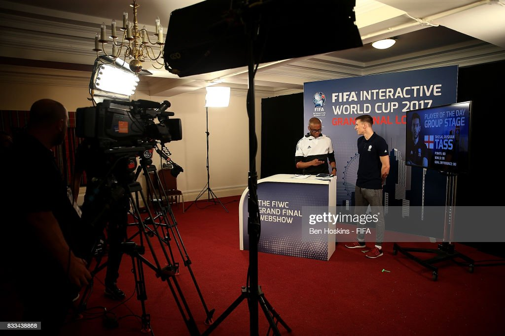 A general view of the FIWC Extra Time Webshow during day one of the FIFA Interactive World Cup 2017 on August 16, 2017 in London, England.
