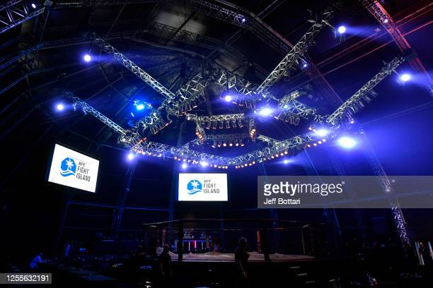 General view of the Flash Forum on UFC Fight Island prior to the UFC 251 event on July 12, 2020 on Yas Island, Abu Dhabi, United Arab Emirates.