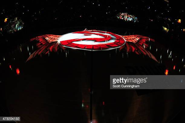 A general view of the floor in Game Five of the Eastern Conference Semifinals between the Atlanta Hawks and the Washington Wizards during the 2015...