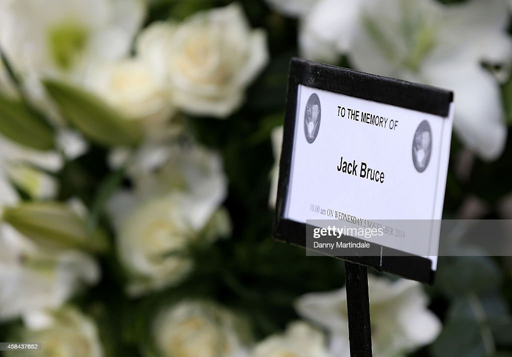 Funeral Of Jack Bruce : News Photo