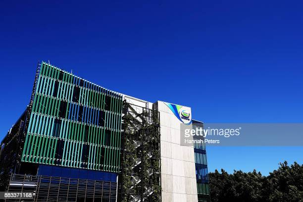 A general view of the Fonterra buildin is seen on December 1 2017 in Auckland New Zealand Fonterra has been ordered to pay Danone 105 million euros...