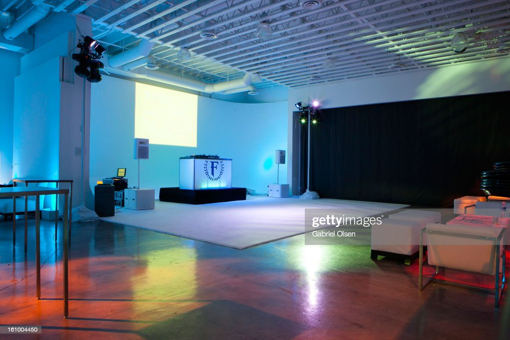 A general view of the Forefront TV Launch Partyon February 7, 2013 in Los Angeles, California.