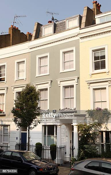 A general view of the former home of Conservative Shadow Chancellor George Osbourne on July 2 2009 in West London England Mr Osbourne is being...