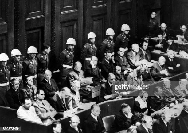 a study of the war crime trials on axis leaders About the trials: the nuremberg trials was a series of military tribunals, held by the allied forces of world war ii, most notable for the because the court was limited to violations of the laws of war, it did not have jurisdiction over crimes that took place before the outbreak of war on 1 september 1939.