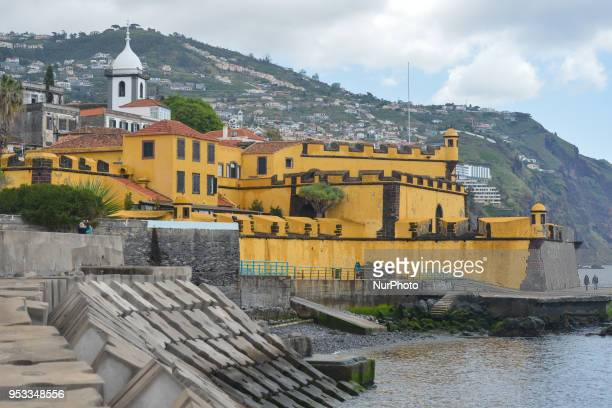 A general view of the Fort of Sao Tiago located in the historical centre of Funchal a seat of the contemporary Art Museum On Monday April 23 in...
