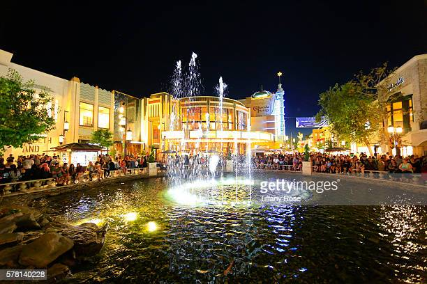 A general view of the fountain at Citi Presents Smash Mouth at The Grove's 2016 Summer Concert Series at The Grove on July 20 2016 in Los Angeles...