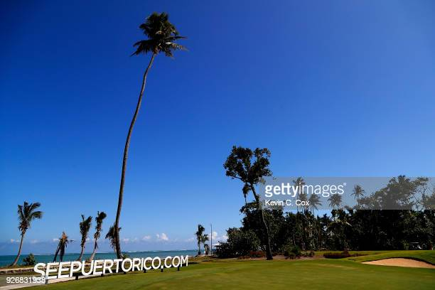 A general view of the fourth hole during the second day of the Puerto Rico Open Charity ProAm at TPC Dorado Beach on March 3 2018 in Dorado Puerto...
