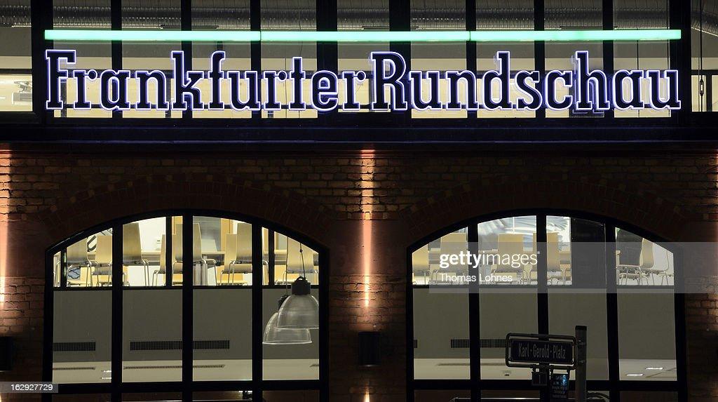 Frankfurter Allgemeine To Buy Frankfurter Rundschau : News Photo