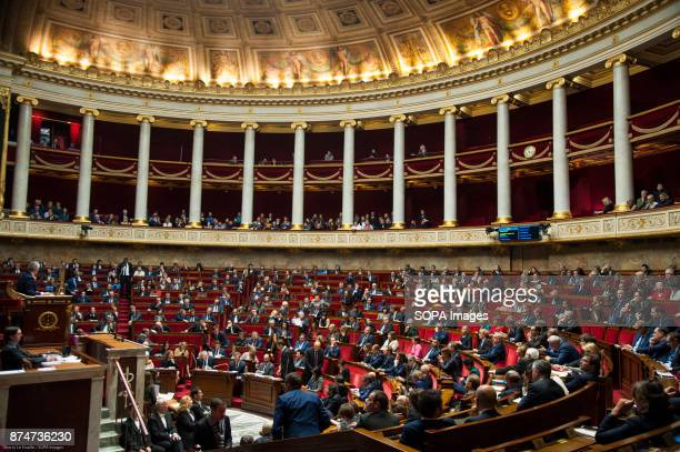 General view of the French national assembly