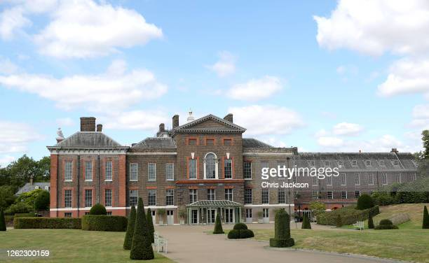 General view of the front of Kensington Palace ahead of its re-opening to the public tomorrow on July 29, 2020 in London, England. Kensington Palace...