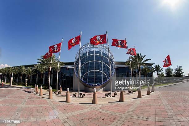 A General View Of The Front Tampa Bay Buccaneers Office One Buccaneer Place During