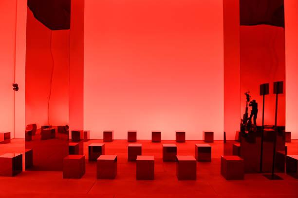 ITA: Salvatore Ferragamo - Front Row - Milan Fashion Week Spring/Summer 2022