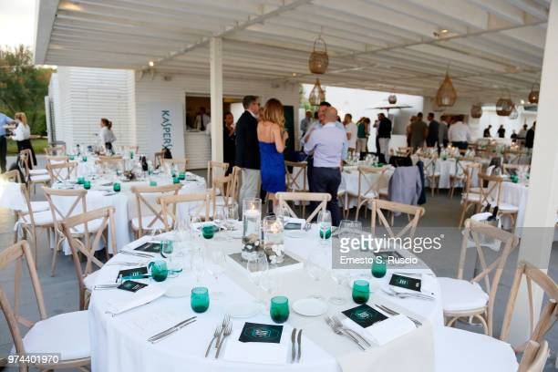 A general view of the Gala Dinner at the Kaspersky Lab European Reseller Summit 2018 on June 12 2018 in Milano Marittima Cervia Italy Kaspersky Lab...