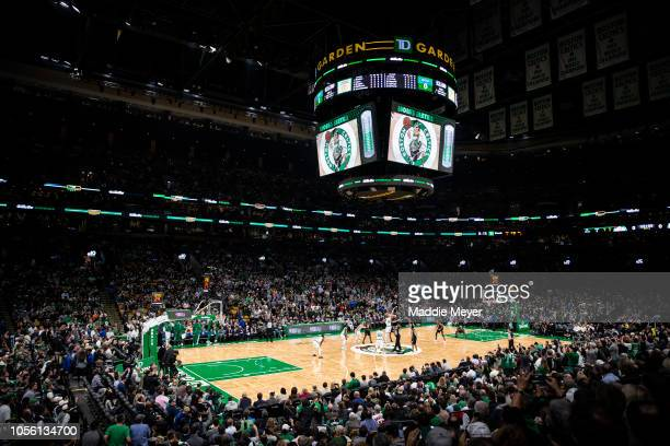 A general view of the game between the Boston Celtics and the Milwaukee Bucks at TD Garden on November 1 2018 in Boston Massachusetts