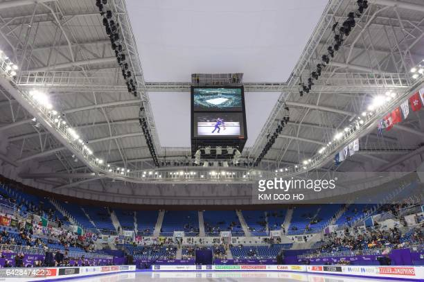 A general view of the Gangneung Ice Arena the venue for the Figure Skating and Short Track Speed Skating at the upcoming PyeongChang 2018 Winter...