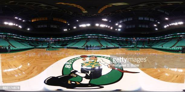 BOSTON MA MAY 15 A general view of the TD Garden during the 2017 NBA Playoffs on May 15 2017 at TD Garden in Boston Massachusetts NOTE TO USER User...