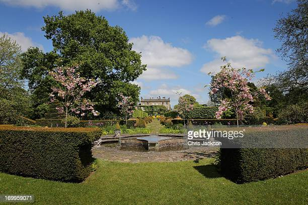 A general view of the gardens at Highgrove House on June 5 2013 in Tetbury England