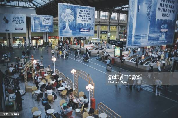 General view of the Gare de Lyon Paris France August 1999