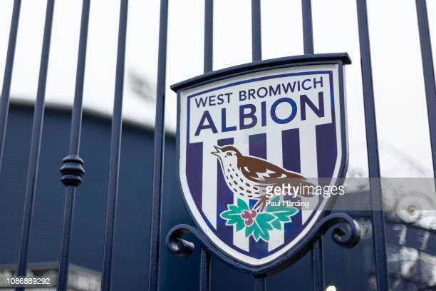 General view of the gates outside the stadium at The Hawthorns on December 26, 2018 in West Bromwich, England.