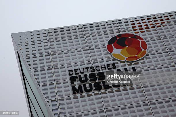 General view of the German Football Museum during the Media Day of the German Football Museum at Football Museum on October 19 2015 in Dortmund...