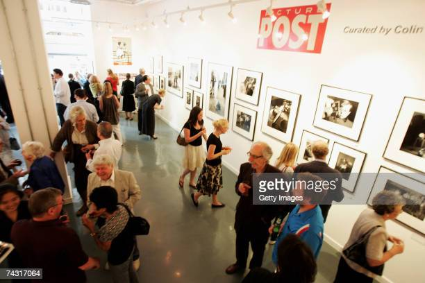 A general view of the Getty Images Gallery during the private view of the Picture Post exhibition on May 24 2007 in London After fifty years since...