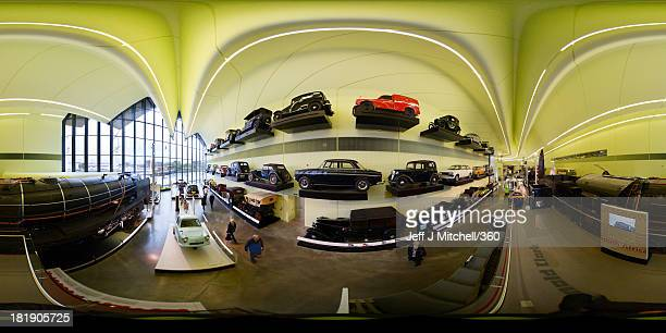 A general view of the Glasgow Transport Museum on September 25 2013 in Glasgow Scotland United Kingdom Opened on June 21 2011 the purposebuilt...
