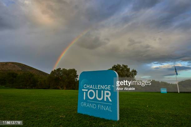 General view of the Golf Alcanada golf course during day 1 of the Challenge Tour Grand Final at Club de Golf Alcanada on November 07 2019 in Mallorca...