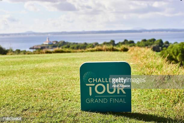 General view of the Golf Alcanada golf course prior to the Challenge Tour Grand Final at Club de Golf Alcanada on November 05 2019 in Mallorca Spain