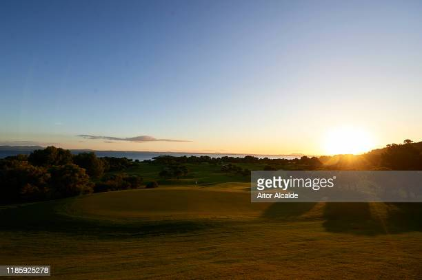General view of the Golf Alcanada golf course prior to the Challenge Tour Grand Final at Club de Golf Alcanada on November 06 2019 in Mallorca Spain