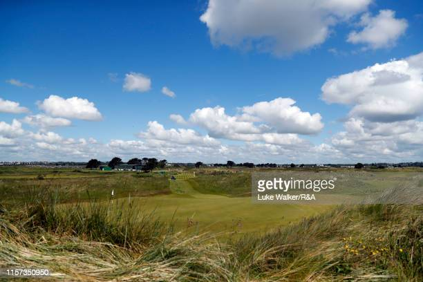 A general view of the golf course during day five of the RA Amateur Championship at Portmarnock Golf Club on June 21 2019 in Portmarnock Ireland