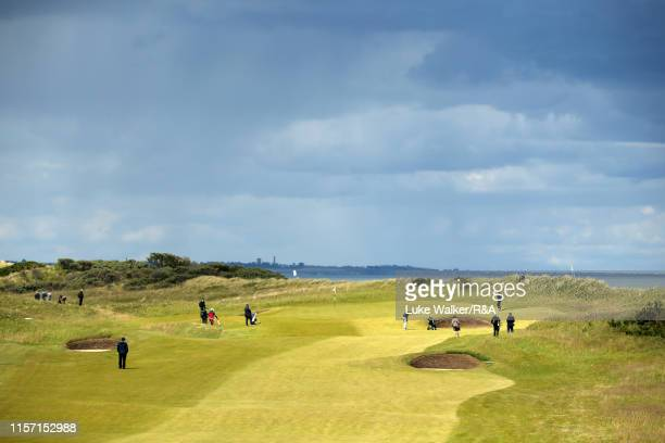 A general view of the golf course during day four of the RA Amateur Championship at Portmarnock Golf Club on June 20 2019 in Portmarnock Ireland