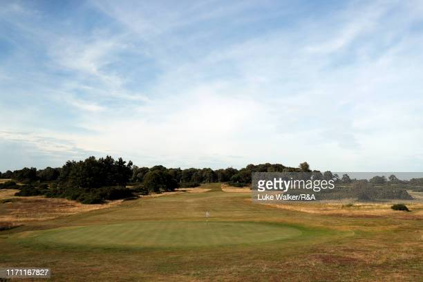 A general view of the golf course during day one of the Jacques Leglise Trophy at Aldeburgh Golf Club on August 30 2019 in Aldeburgh England