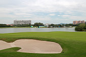 shenzhen china general view golf course