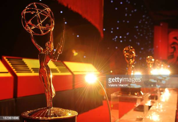 General view of the Governor Ball during the 64th Annual Primetime Emmy Awards Press Preview Day at Nokia Theatre LA Live on September 19 2012 in Los...