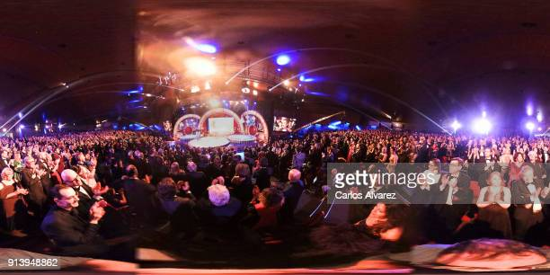 General view of the Goya Cinema Awards 2018 at the Auditorium Hotel on February 3 2018 in Madrid Spain