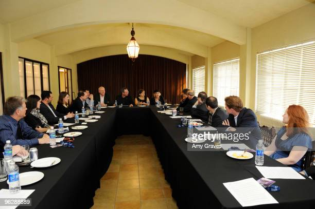 A general view of the GRAMMY Congressional Briefing at The Wilshire Ebell Theatre on January 30 2010 in Los Angeles California