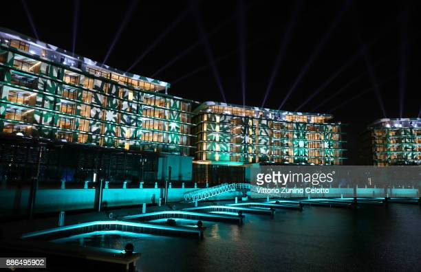 A general view of the Grand Opening of Bulgari Dubai Resort on December 5 2017 in Dubai United Arab Emirates