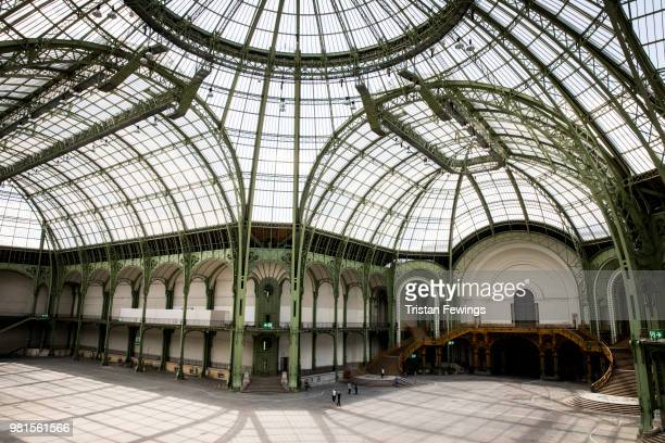 A general view of the Grand Palais prior the Cerruti 1881 Spring Summer 2019 show as part of Paris Fashion Week on June 22 2018 in Paris France