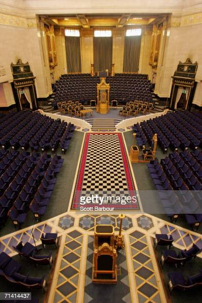 General View The Grand Temple Inside Freemason Hall July News Getty Images