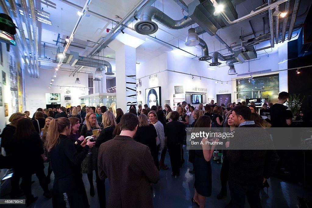 Grazia Celebrates 10th Anniversary With Exhibition & Talks: #Grazia10 Private View : News Photo