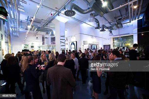 A general view of the #Grazia10 private view an exhibition to celebrate ten years of the iconic weekly magazine with a series of talks and events...