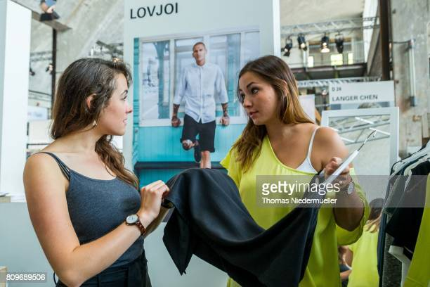 A general view of the Greenshowroom trade show during the MercedesBenz Fashion Week Berlin Spring/Summer 2018 at Funkhaus Berlin on July 6 2017 in...