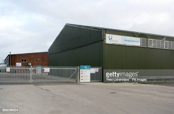 A general view of the Greenstar Recycling Plant in Mill Lane Addlethorpe Lincolnshire where the body of a baby boy was discovered by a worker at...