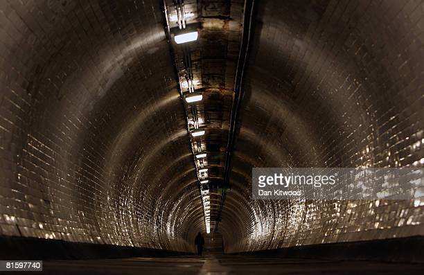 A general view of The Greenwich Foot Tunnel on May 27 2008 in London England The tunnel runs under the River Thames between Cutty Sark Gardens and...