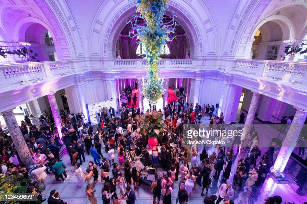 General view of the GRM Gala at The V&A on August 9, 2021 in London, England.