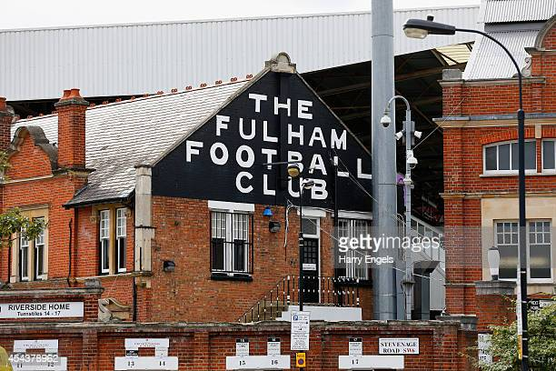 A general view of the ground ahead of the Sky Bet Championship match between Fulham and Cardiff City at Craven Cottage on August 30 2014 in London...